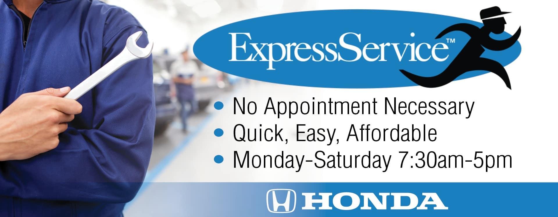 HOW Express Service Banner