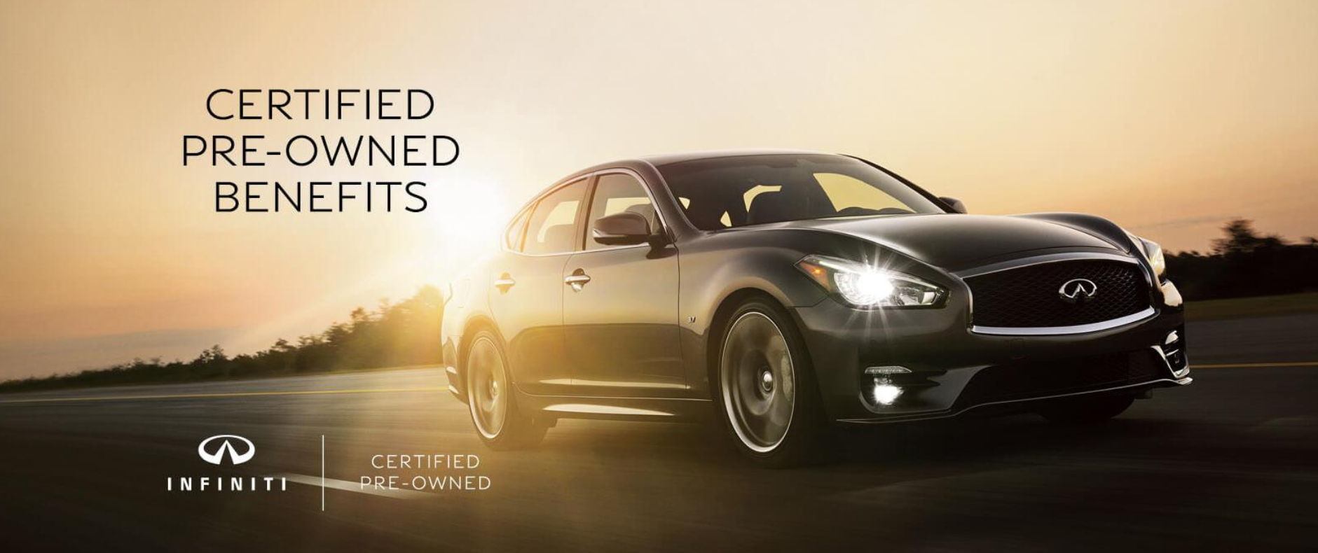 INFINITI Certified Pre-Owned Benefits