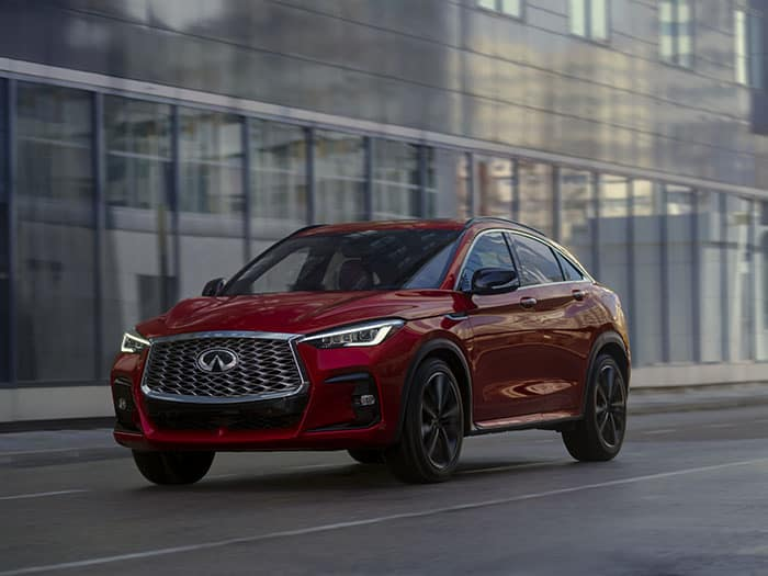 The all-new 2022 INFINITI QX55 is HERE!