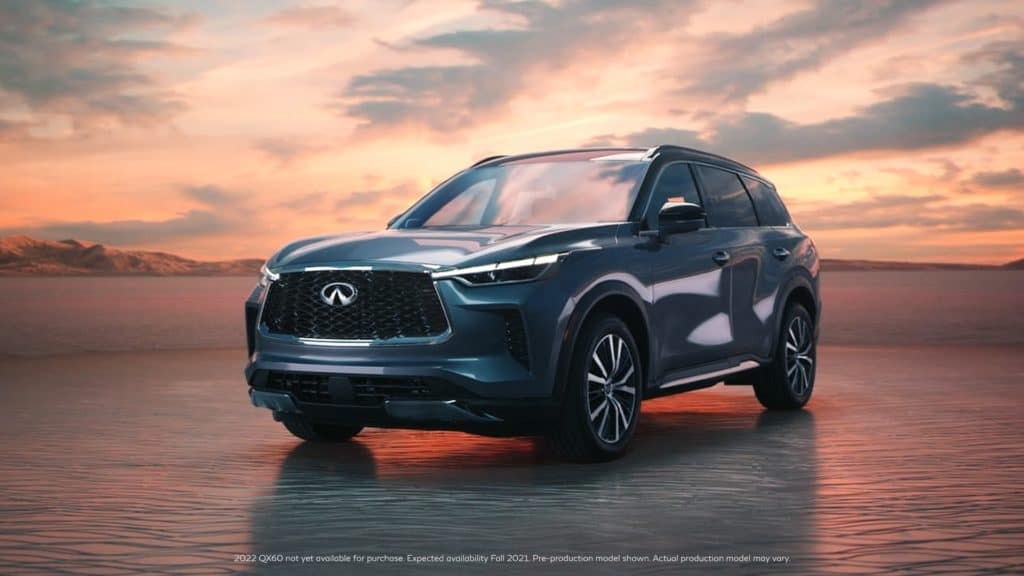 The all-new 2022 INFINITI QX60 is COMING!