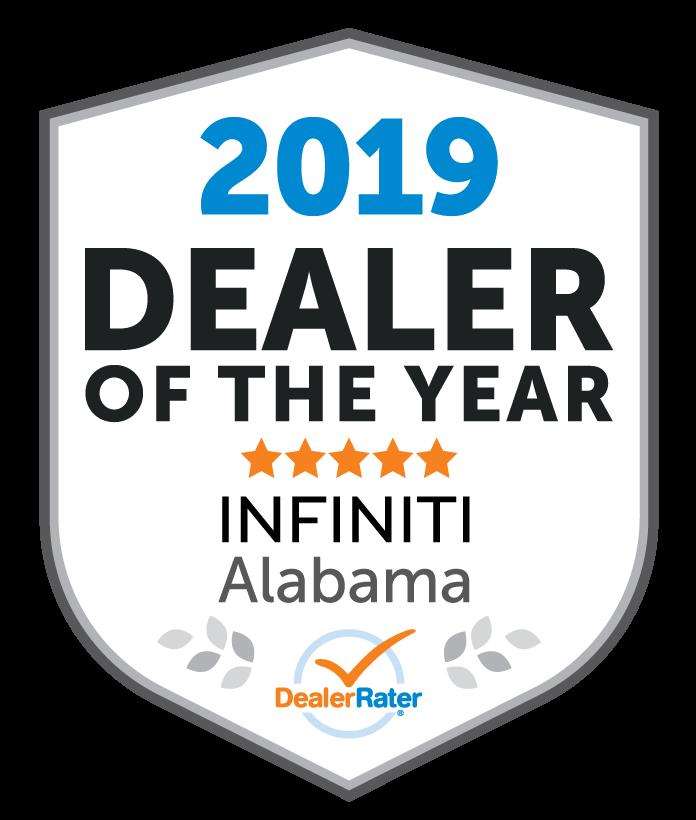2019 Dealer Rater Dealer of the Year Alabama