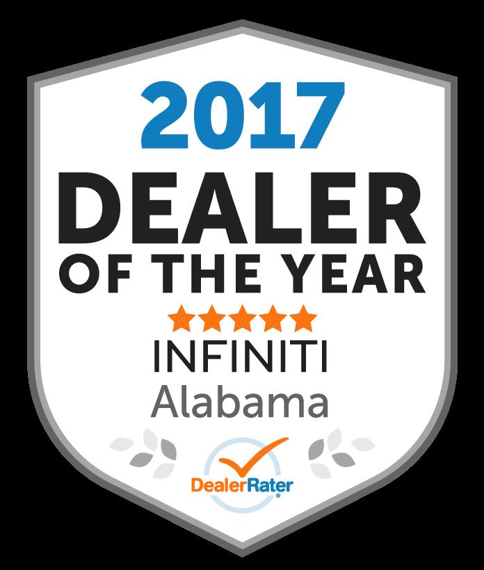 2017 Dealer Rater Dealer of the Year Award