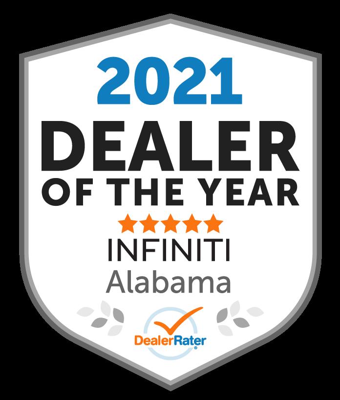 2021 Dealer Rater Dealer of the Year Award