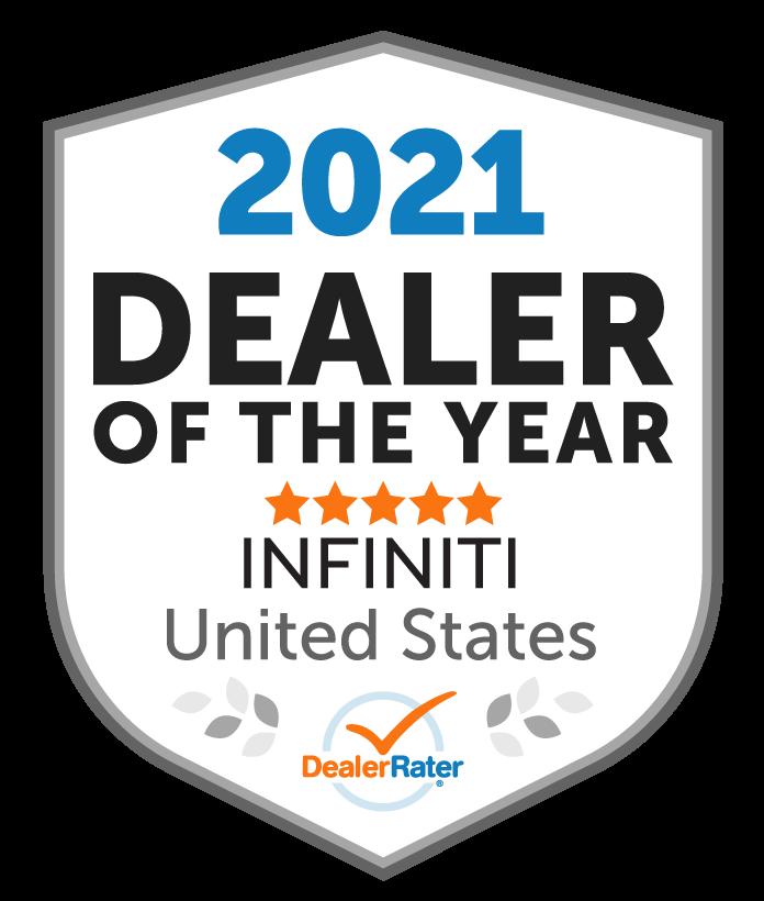 2021 Dealer Rater Dealer of the Year Award National