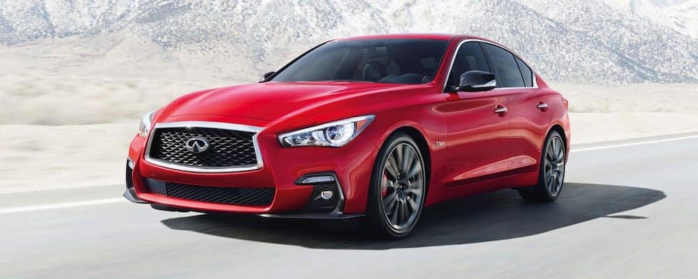 2019 q50 on highway