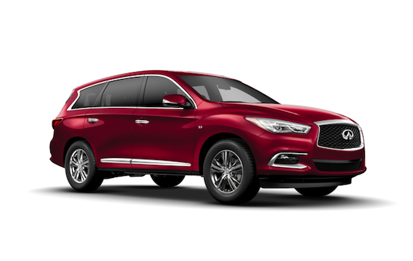 2019 QX60 LUXE AWD with NAVIGATION