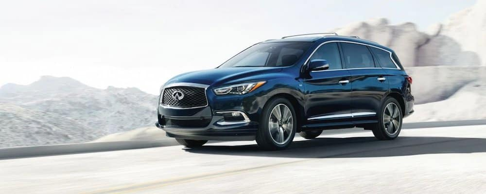 2019 qx60 driving on highway