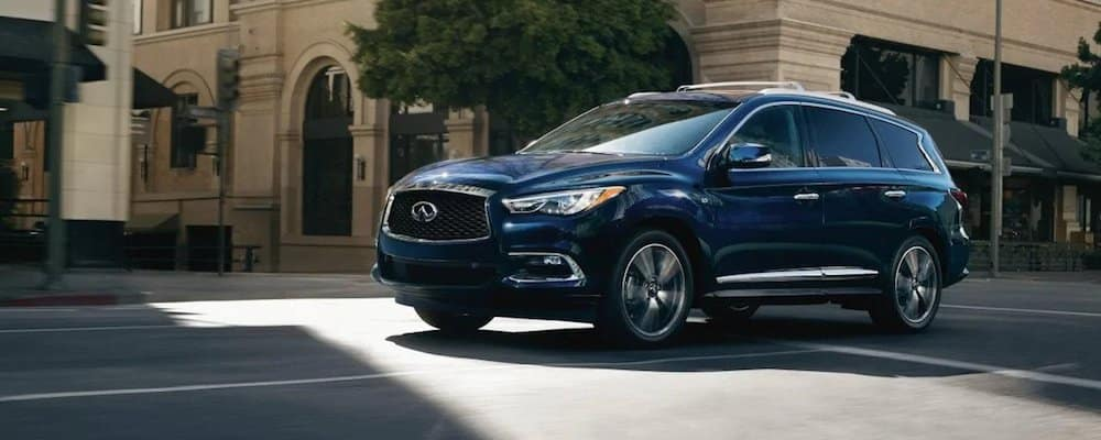 2019 qx60 driving in city