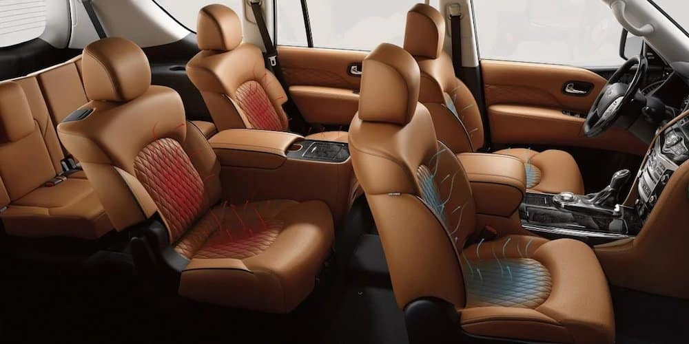 2019 INFINITI QX80 Ventilated Seats