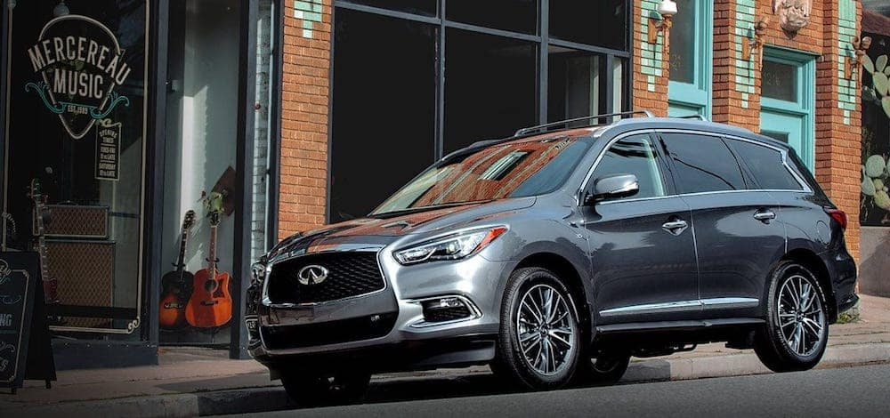 2019 INFINITI QX60 Parked Outside Store