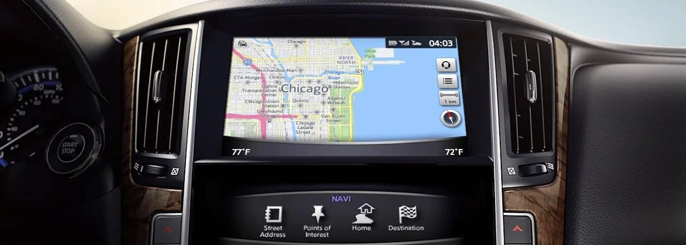 INFINITI InTouch Display