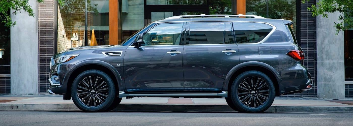 2020 INFINITI QX80 Parked On Street