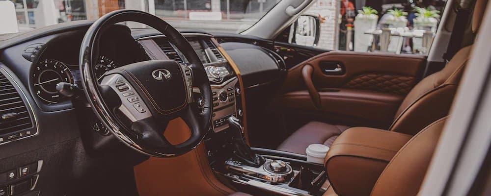 2020 INFINITI QX80 Front Interior