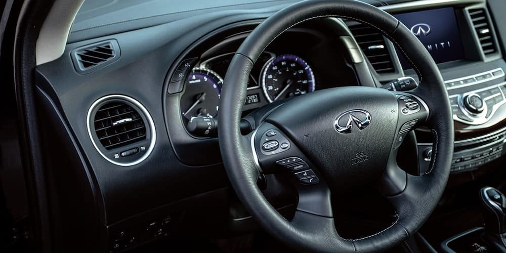 2020 INFINITI QX60 Front Dash