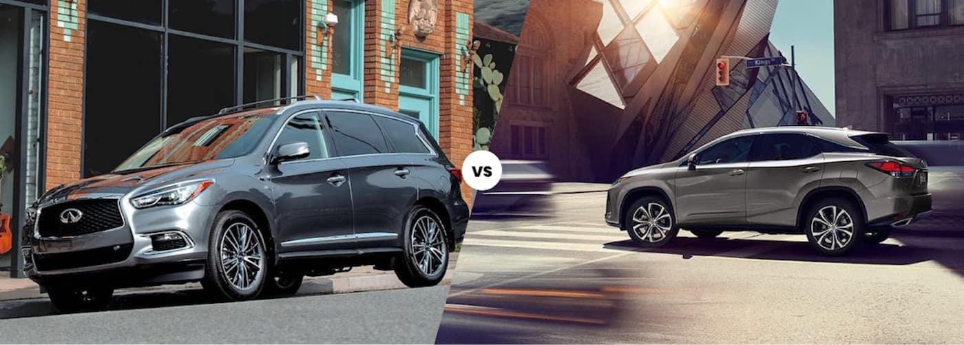 2020 INFINITI QX60 vs. 2020 Lexus RX