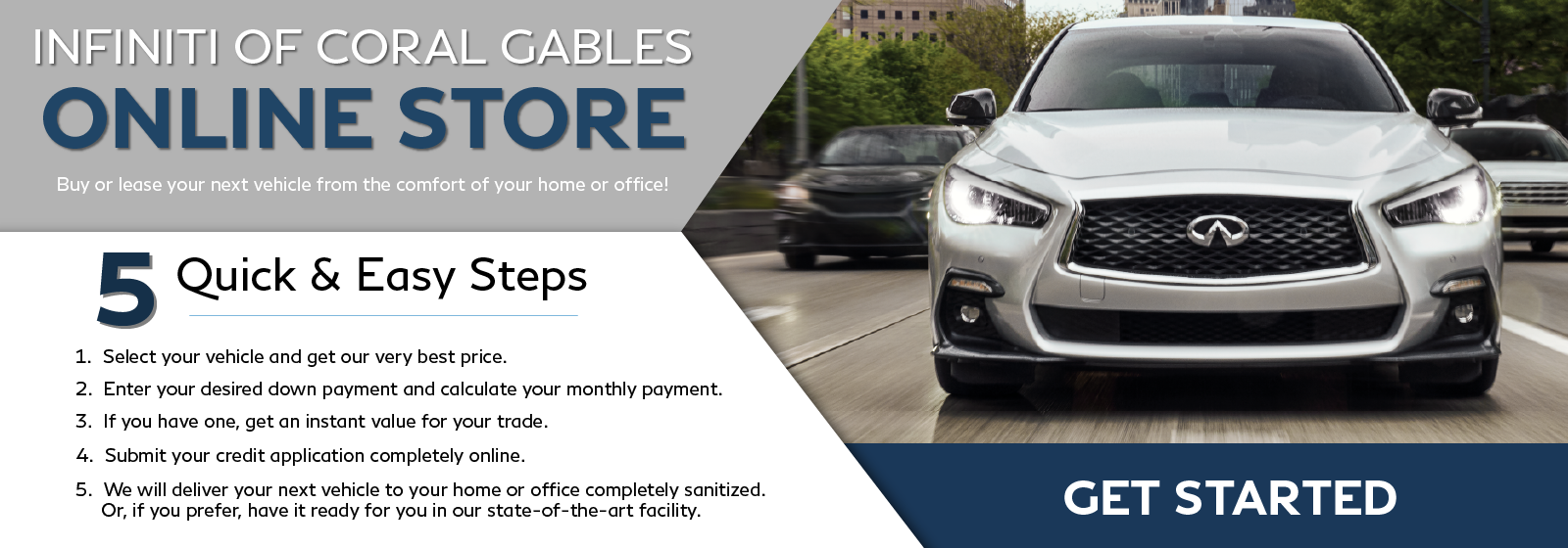 IofCG Online Store - Buy or lease your next vehicle online from the comfort of your own home or office! Click to get started.