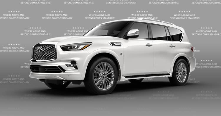 <center>2020 QX80 <small>LUXE 4WD</small></center>