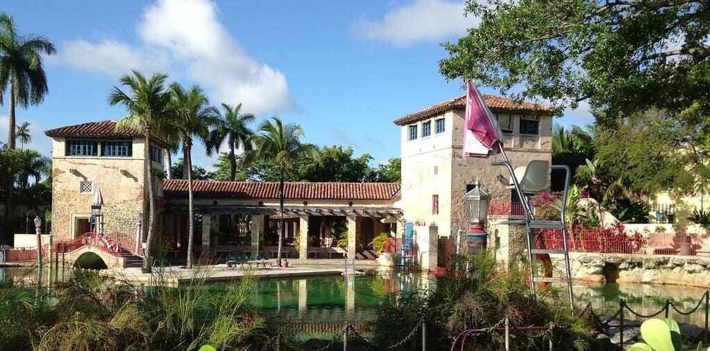 Miami Water Park Banner