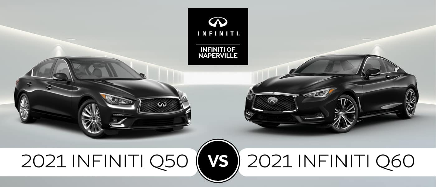 2021 INFINITI Q50 VS Q60 Model Comparison