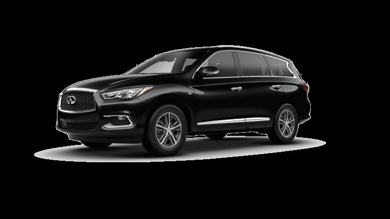 2020 INFINITI QX60 Luxe - Obsidian Black