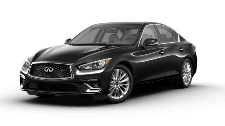 2021 INFINITI Q50 Luxe - Midnight Black