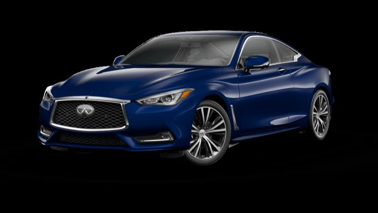 2021 INFINITI Q60 Luxe Grand Blue