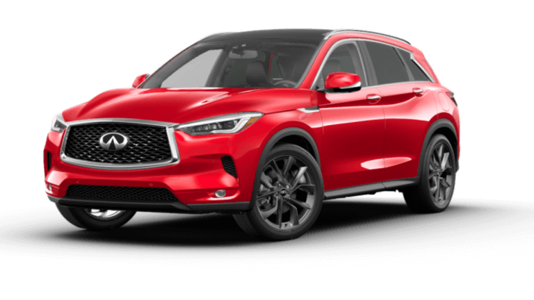 2021 INFINITI QX50 Autograph - Dynamic Sunstone Red