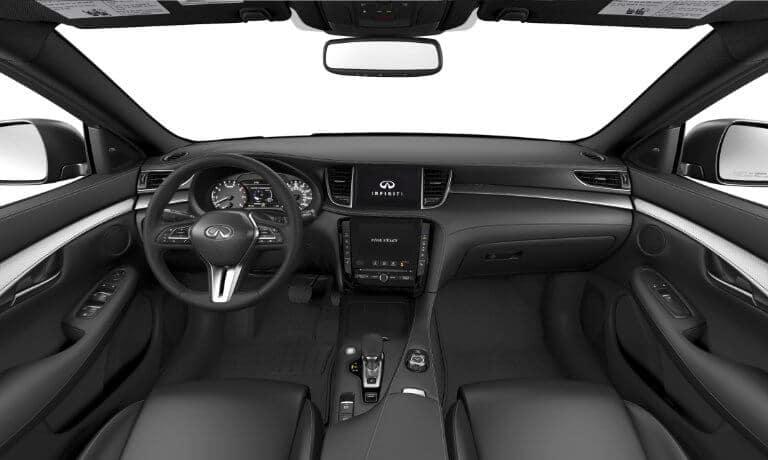2021 INFINITI QX50 interior front
