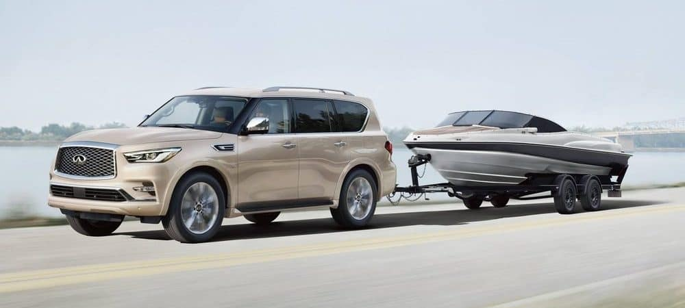 2019 INFINITI QX80 Towing Boat