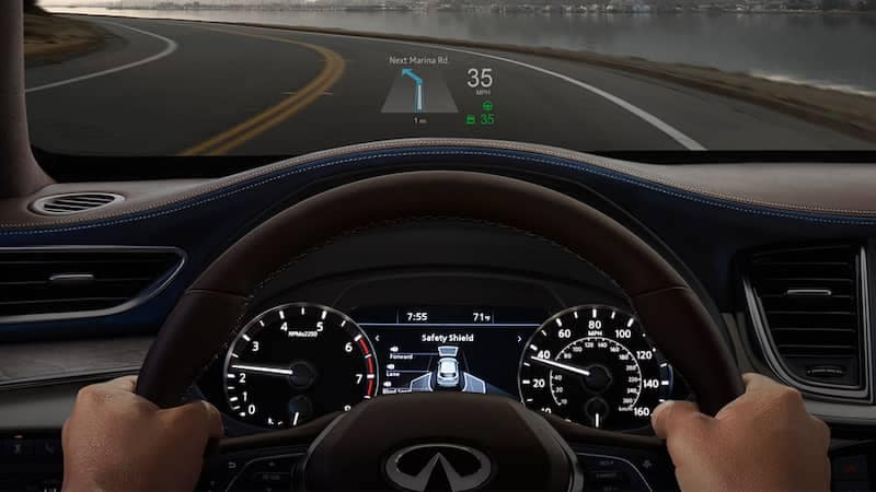 2019 INFINITI QX50 Heads Up Display