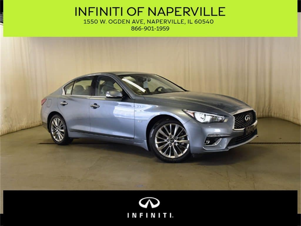 New 2019 INFINITI Q50 3.0t LUXE AWD With Navigation & AWD