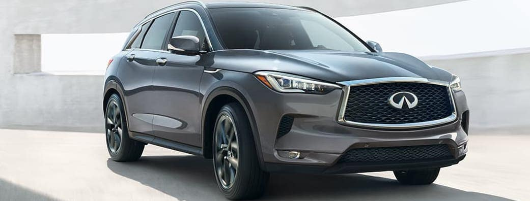 2019 INFINITI QX50 in Gray.