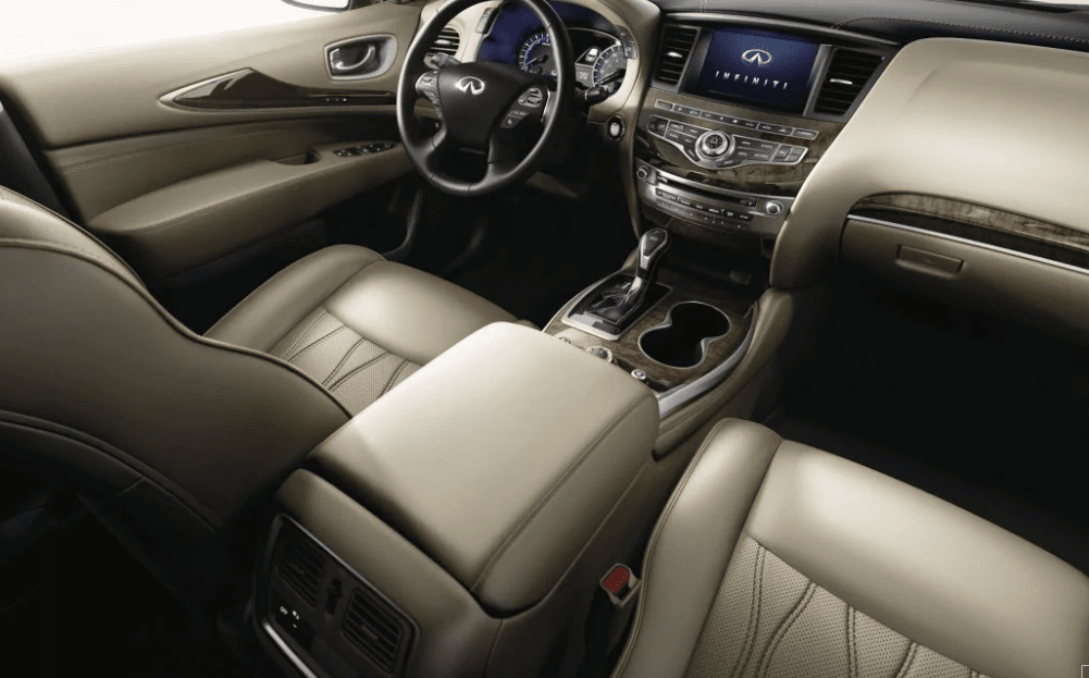 2019 INFINITI QX60 with a Beige Interior