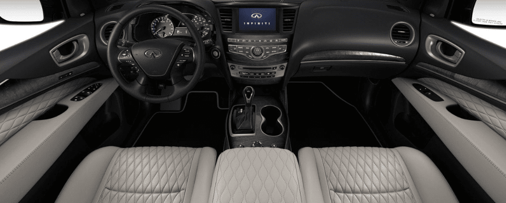 2019 INFINITI QX60 Interior with Quilted Leather