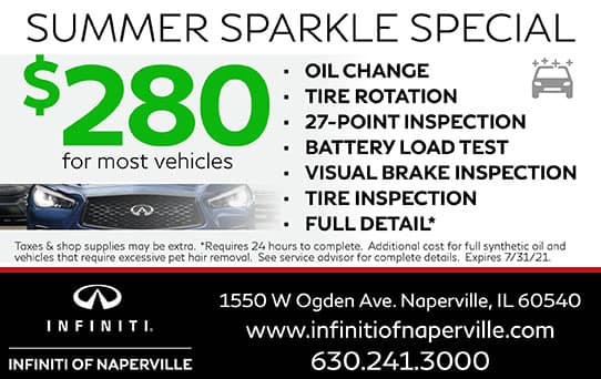 Summer Sparkle Special | INFINITI of Naperville