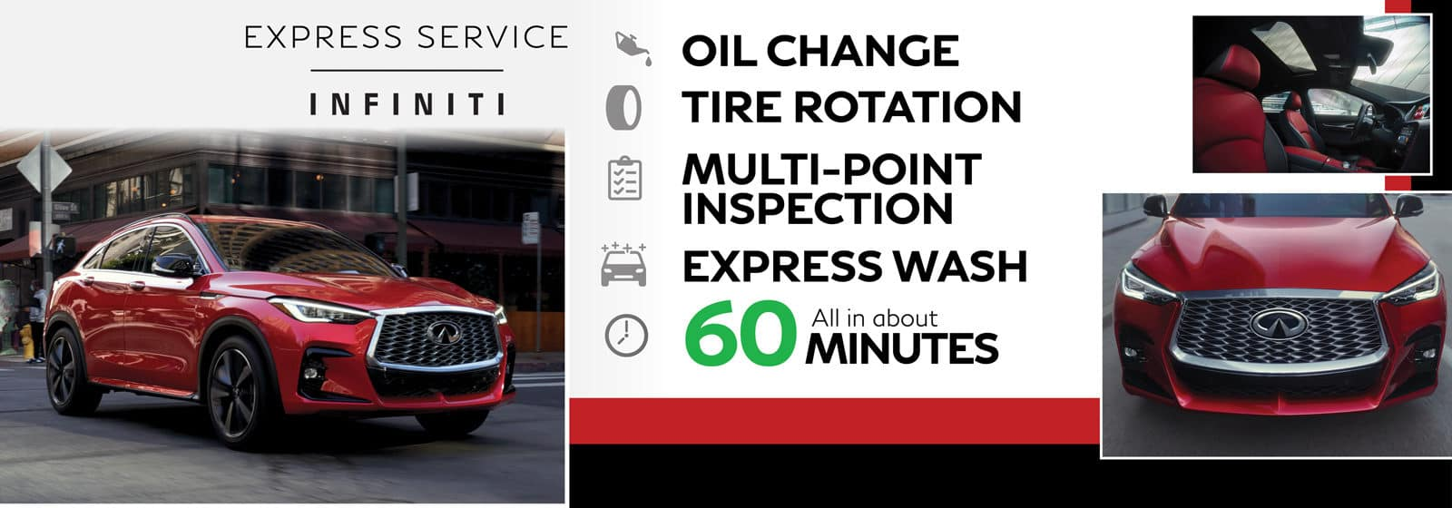 Express Service Offer | INFINITI of Naperville