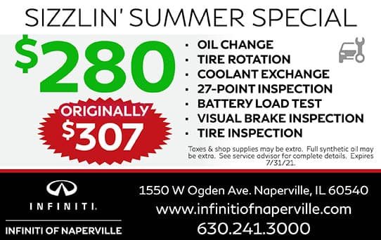 Sizzlin' Summer Special | INFINITI of Naperville
