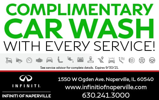 Car Wash Special | INFINITI of Naperville