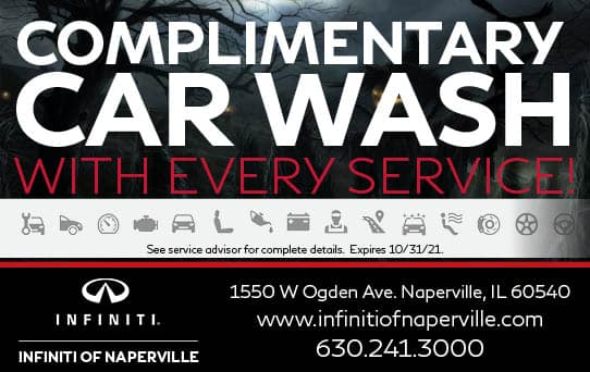 Complimentary Car Wash   INFINITI of Naperville