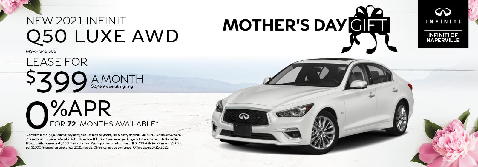 2021 INFINITI Q50 Lease or Finance Offer | INFINITI of Naperville