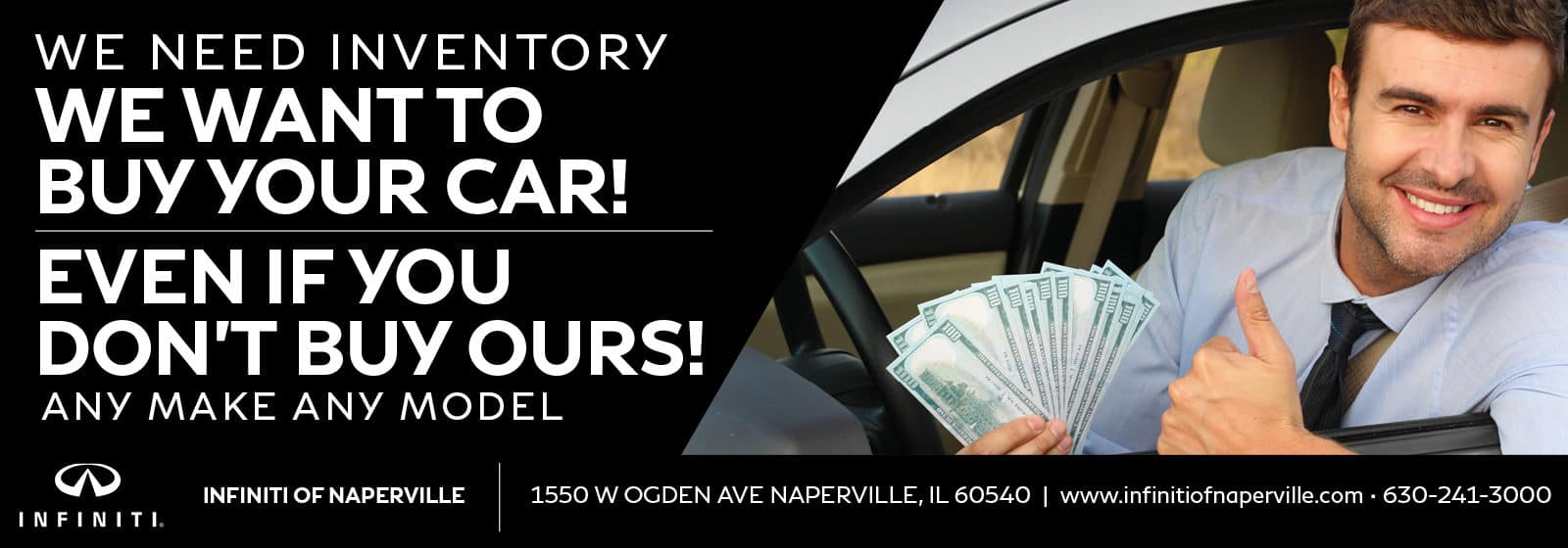 We Want To Buy Your Car | INFINITI of Naperville