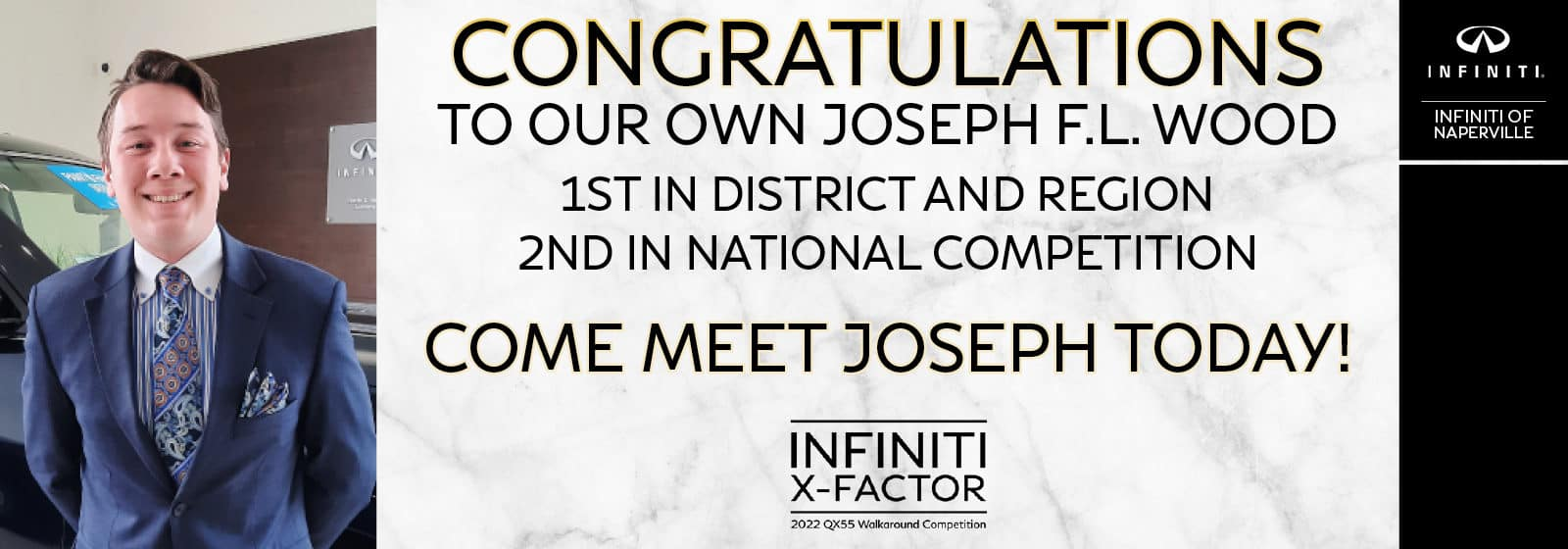 Congratulations | INFINITI of Naperville