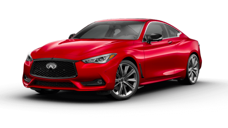 2021 INFINITI Q60 Red Sport 400 in Dynamic Sunstone Red exterior