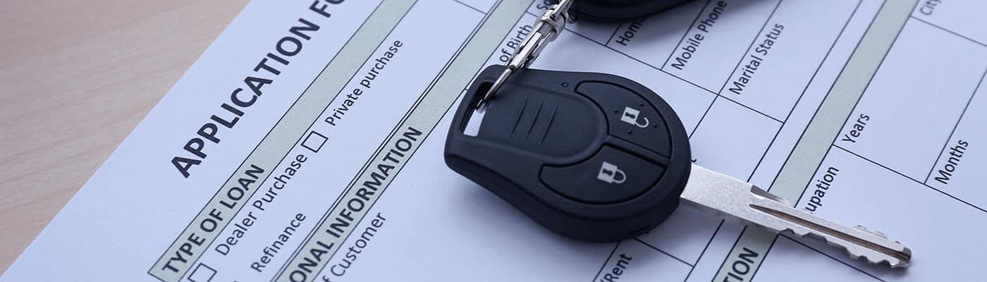 car financing application