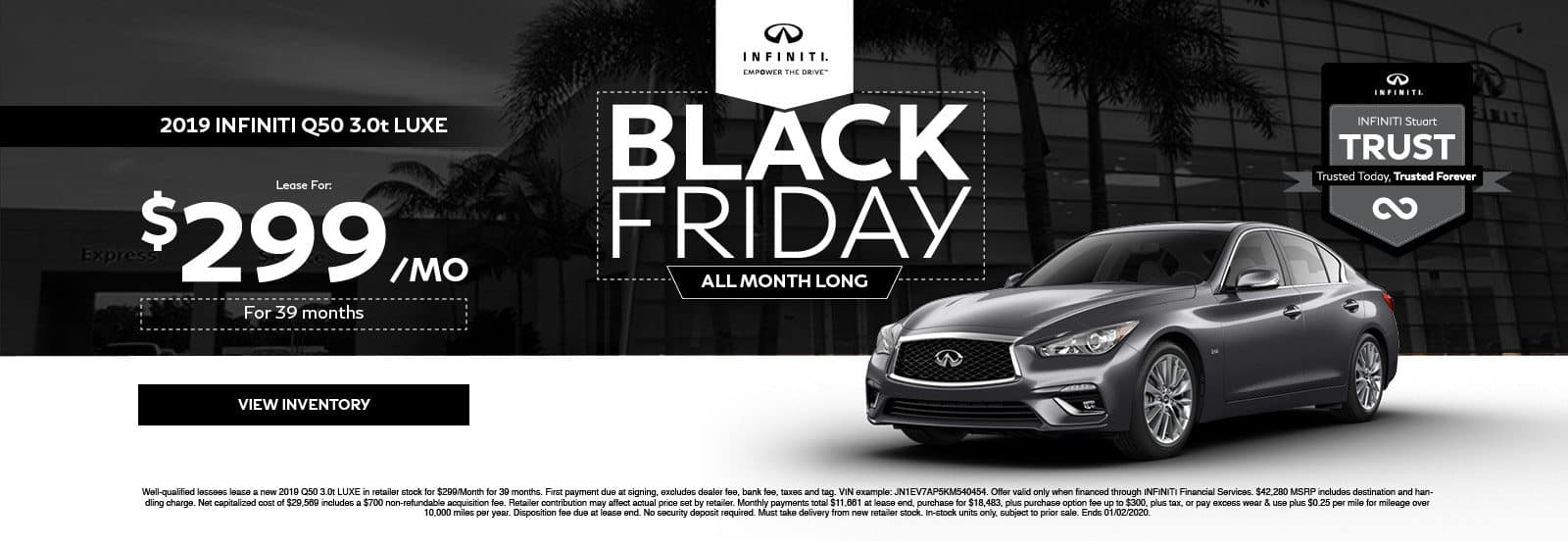 Q50 Black Friday Special