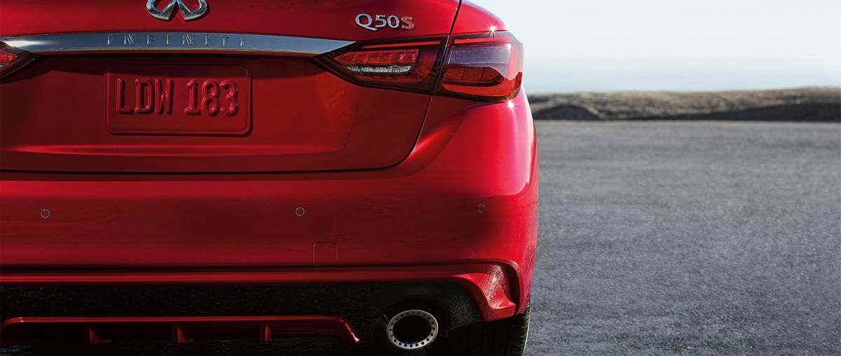 2020 INFINITI Q50 Rear Bumper