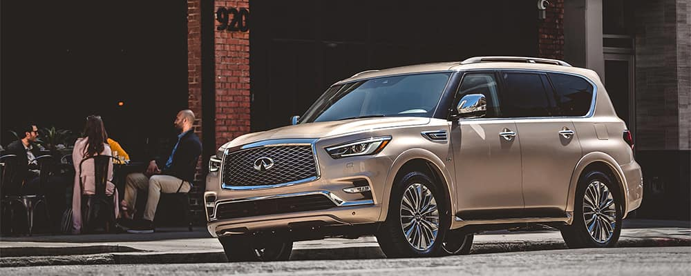 INFINITI QX80 Parked on Side of Street