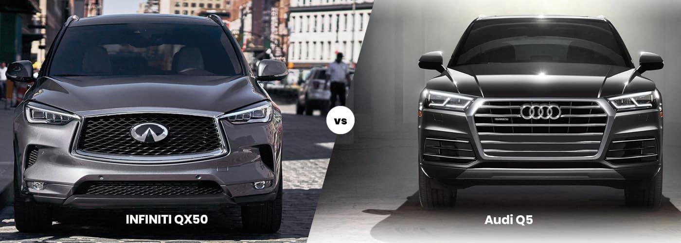 INFINITI QX50 vs Audi Q5