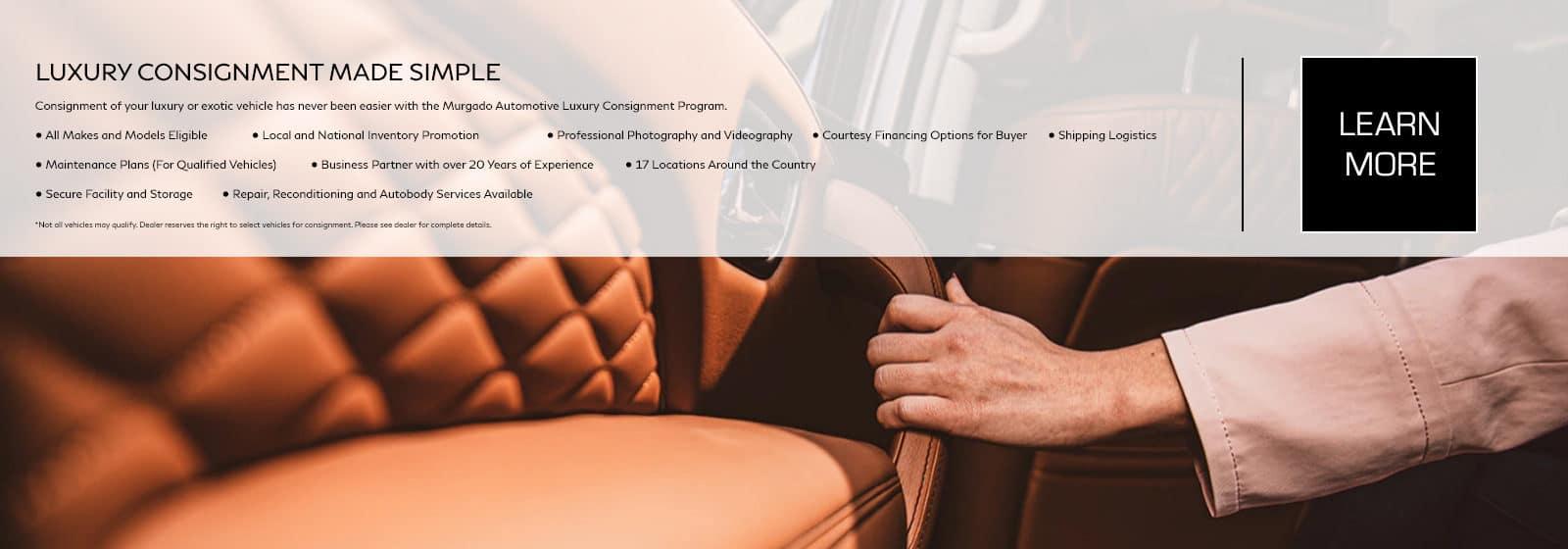 INFINITI Stuart luxury Consignment