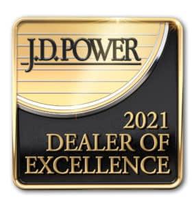 JD Power 2021 Dealer of Excellence INFINITI Stuart